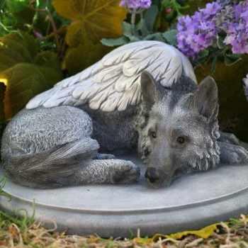 German Shepherd Statue For Garden