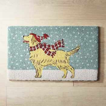 Golden Retriever Door Mat