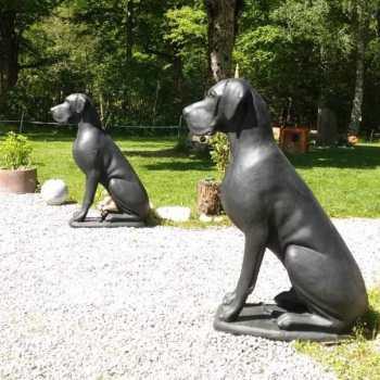 Great Dane Garden Statue