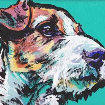 Jack Russell Art