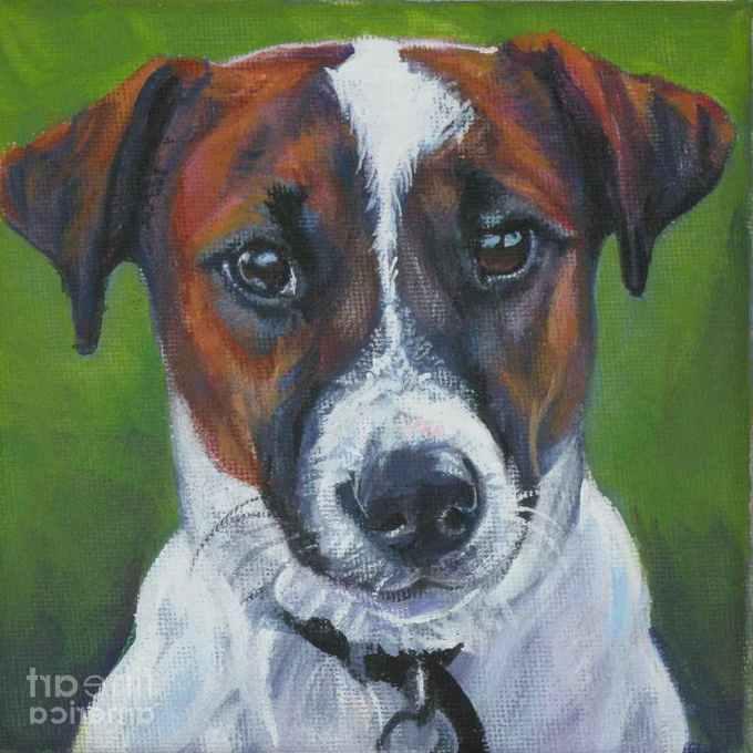 Jack Russell Terrier Paintings