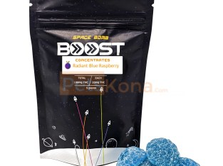 Boost Concentrates | Space Bomb Gummies | Radiant Blue Raspberry
