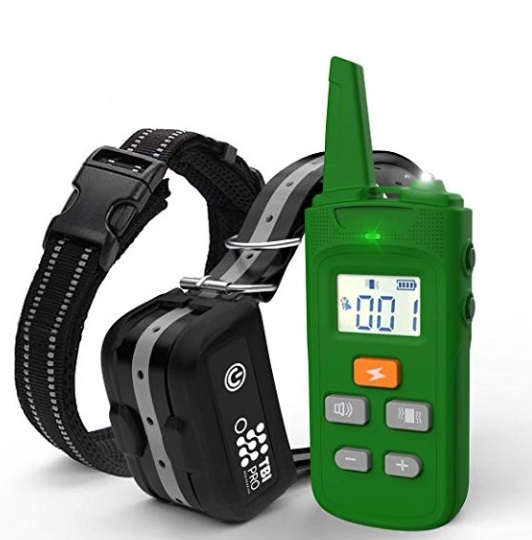 TBI Pro Professional K9 Dog Shock Training Collar with Remote Long-Range