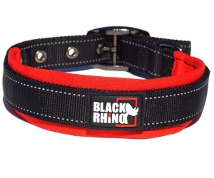 Black Rhino Comfort Dog Collar