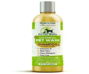 Pro Pet Works All Natural Organic Oatmeal Pet Shampoo review