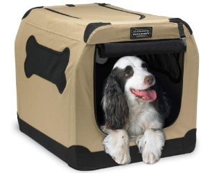 Petnation Port-A-Crate Indoor and Outdoor Home for Pets review