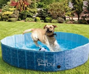 FrontPet Foldable Dog Pool Pet Bathing Tub, Kiddie Pool