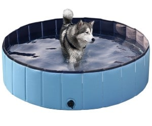 Yaheetech Foldable Hard Plastic Pet Swimming Pool review