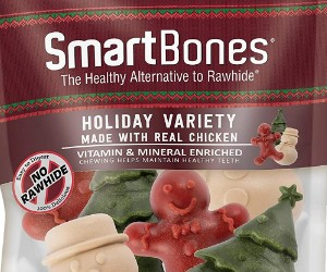 SmartBones Holiday VarietyTreats  review