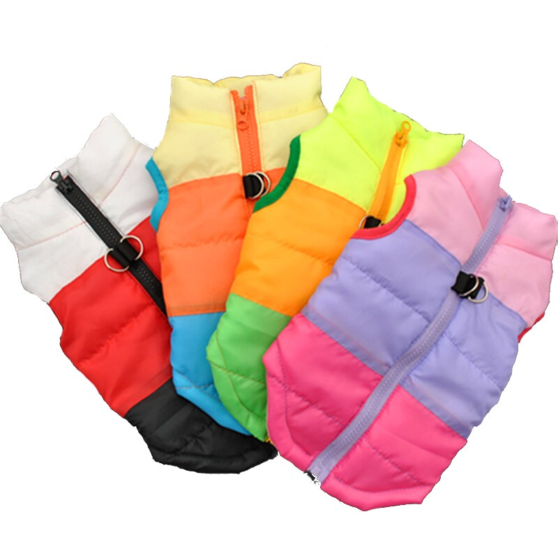 Colorful Winter Pet's Vest