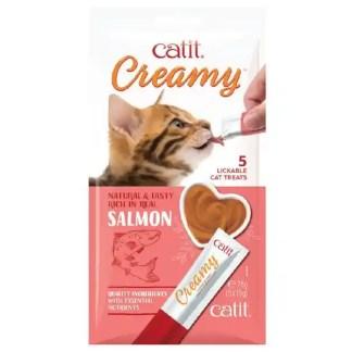 cat lick treat