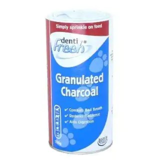 granulated charcoal