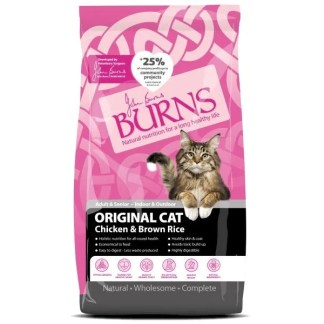 burns cat food