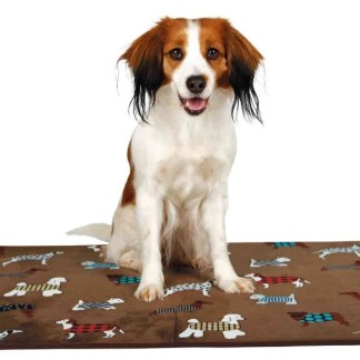 fun dog lying mat