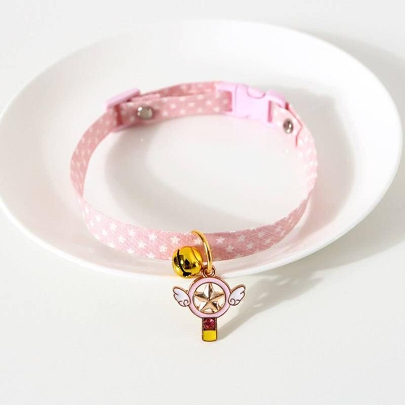 Adjustable Cat Collar with Bell