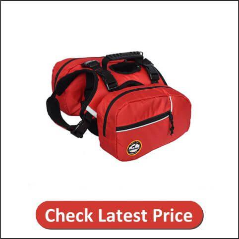 Fosinz Pet Dog Saddle Bag Pack Bag