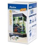All-Glass-Aquarium-AAG17004-15column-Black-Deluxe-Kit-0