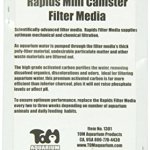 KollerCraft-TOM-Replacement-Filter-Media-for-Rapids-Mini-Canister-Filter-TM1300-Two-Pack-0-1