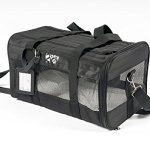 2PET-Airline-Pet-Carrier-Under-Seat-Perfect-Soft-Sided-Pet-Kennel-for-Small-Dogs-and-Cats-Mesh-windows-for-Excellent-Ventilation-and-Comfort-Dual-Access-Doors-Strong-Built-Major-Airlines-0