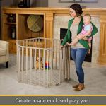 3-in-1-Extra-Wide-Gated-Wood-Superyard-by-North-States-Create-a-Play-Yard-or-an-Extra-Wide-gate-Hardware-Mount-or-freestanding-6-Panel-10-sq-ft-Enclosure-151-Long-30-Tall-Light-Gray-0-2