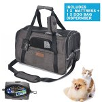 Airline-Approved-Soft-Sided-Pet-Travel-Carrier-with-Mesh-Windows-and-Cushion-Free-Bonus-Poop-Bag-Dispenser-for-Small-Dogs-and-Cats-0