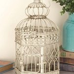 Deco-79-Metal-Bird-Cage-21-Inch-and-18-Inch-Set-of-2-0-1