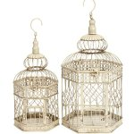 Deco-79-Metal-Bird-Cage-21-Inch-and-18-Inch-Set-of-2-0