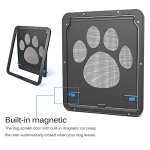MyfatBOSS-Pet-Screen-Door-Pet-Window-Screen-Dog-Door-Dog-Door-Sliding-Door-Automatic-LockLockable-0-1