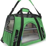 OxGord-Pet-Carrier-Soft-Sided-Cat-Dog-Comfort-FAA-Airline-Approved-Travel-Tote-Bag-2015-Newly-Designed-Small-Shamrock-Green-0
