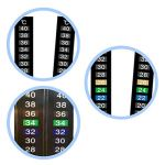 POPETPOP-Traditional-Stick-on-Digital-Temperature-Thermometer-Strip-Degree-Celsius-System-DisplayKeep-Fish-Healthy10PCs-0-1