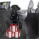 Plush-Paws-Ultra-Luxury-Pet-Seat-Cover-Dog-Car-Hammock-Protector-Bench-Rear-Waterproof-100-Non-Slip-Backing-Anchors-Side-Flaps-Machine-Wash-Black-2-Bonus-Harness-2-Seat-Belts-0-1