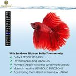 SunGrow-Betta-Sticker-Thermometer-Ensure-Optimum-Comfort-Around-78-Degrees-Accurately-Measures-Temperature-Large-Font-for-Quick-Reading-Keep-Fish-Healthy-1-Minute-to-Set-up-0-1