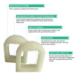 Think-Crucial-8-Replacements-for-Drinkwell-Foam-Pre-Filters-Fits-360-Lotus-Avalon-Pagoda-Sedona-Pet-Fountains-0-1