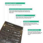 Think-Crucial-Air-Filter-Replacement-Parts-Compatible-with-Aqua-Tech-EZ-Change-3-Aquarium-Filter-Cartridge-Replacement-Fits-Aqua-Tech-20-40-and-30-60-Power-Filters-Perfect-Home-Purifier-Bulk-0-1