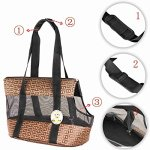 Travel-Pet-Carrier-Purse-By-ANGEL-DOGGY-Small-Dog-Cat-Polyester-Travel-Tote-Comfortable-Soft-Sided-Airline-Approved-Shoulder-Handbag-For-Puppy-Kitten-Go-Shopping-Hiking-Walking-With-Doggy-0-0