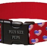 4th-of-July-Dog-Collar-Heart-Flags-on-Red-Webbing-0