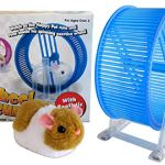 ABL-Happy-Hamster-Pet-with-WHEEL-RUNNER-Battery-Operated-Kids-Toy-0