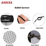 ASOCEA-Adjustable-Soft-Harness-with-Stretchy-Leash-for-Bunny-Cat-0-0