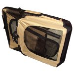 Airline-Approved-Folding-Zippered-Sporty-Cage-Pet-Carrier-0-2