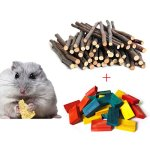 BWOGUE-Hamster-Chew-Sticks100G-Natural-Apple-Branch-24pcs-Colored-Wood-Chews-Sticks-Molar-Teeth-Toy-for-Small-Pets-Chew-Treat-0-0