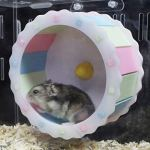 Best-Quality-Cages-Petforu-Hamster-Mouse-Slient-Running-Roller-Pet-Exercise-Sport-Jogging-Wheel-by-VietFA-1-PCs-0