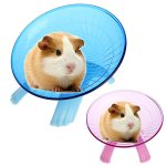 Best-Quality-Exercise-Wheels-Running-Disc-Flying-Saucer-Exercise-Wheel-for-Mice-Hamsters-Gerbil-Cage-Toy-by-FAWareHouse-1-PCs-0