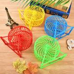 Best-Quality-Home-1PC-Plastic-Scroll-Silent-Hamster-Mouse-Rat-Windmill-Running-Wheel-Exercise-Wheels-Gerbil-Pet-Toy-by-VietFA-1-PCs-0