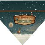 Christmas-Over-the-Collar-Dog-Bandana-Country-Christmas-0