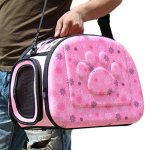 Coraltea-EVA-Pet-Carrier-Airline-Approved-Outdoor-Under-Seat-Travel-Puppy-Bag-for-Pets-of-Medium-Size-Cats-Dogs-0-0