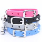 Designers-Novelty-Glow-Spikes-Snag-Proof-Safety-Small-Breed-DogCat-Collar-Fiesta-Blue-XS-0-0