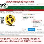 Exotic-Nutrition-Silent-Runner-9-Exercise-Wheel-Cage-Attachment-0-0