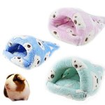 FLAdorepet-Rat-Hamster-House-Bed-Winter-Warm-Fleece-Small-Pet-Squirrel-Hedgehog-Chinchilla-Rabbit-Guinea-Pig-Bed-House-Cage-Nest-Hamster-Accessories-0