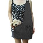 Hands-free-Travel-Portable-Small-Puppy-Pet-Dog-Cat-Carrier-Tote-Bag-Sling-Adjustable-Strap-Shoulder-Bag-Backpack-Summer-Cool-Breathable-Hammock-Soft-Sided-Carrier-Bed-Handbag-Cross-Body-Messenger-Bag-0-1