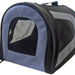 Iconic-Pet-FurryGo-Universal-Collapsible-Airline-Carrier-Small-Black-0